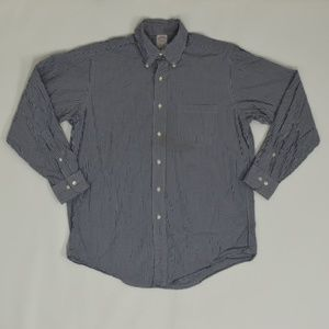 Brooks Brothers Regular 15 1/2 Blue   Button Down